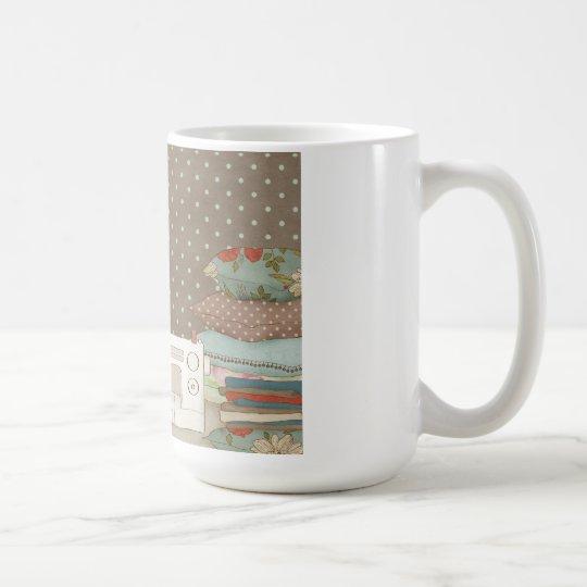 Holiday Sewing Coffee Mug
