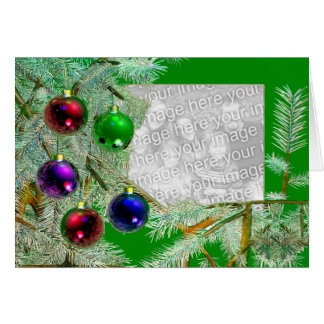 Holiday Shine (photo frame) Greeting Card