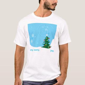 holiday shirt: blue T-Shirt