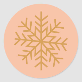 Holiday Sleigh Ride // Sticker (pink)