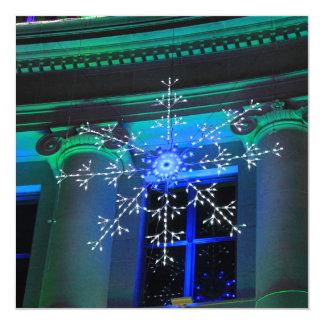 Holiday Snowflake 13 Cm X 13 Cm Square Invitation Card