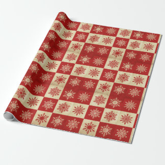 Holiday Snowflake Wrapping Paper