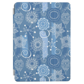 Holiday Snowflakes and Stars Background iPad Air Cover