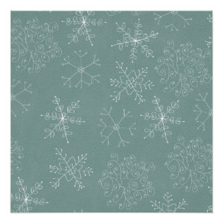 Holiday Snowflakes Pattern