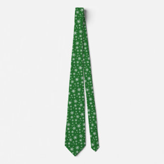 Holiday Snowflakes Tie