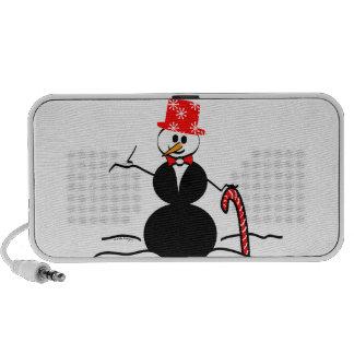 Holiday Snowman Portable Speaker