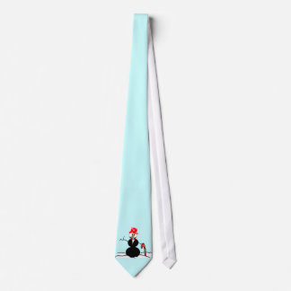 Holiday Snowman Tie