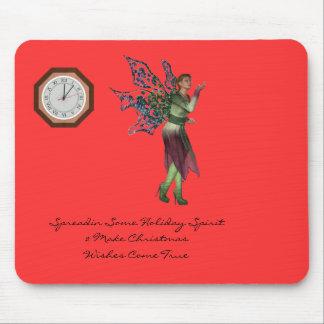 Holiday Spirit Season Mousepad
