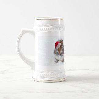 Holiday Squirrel Mugs