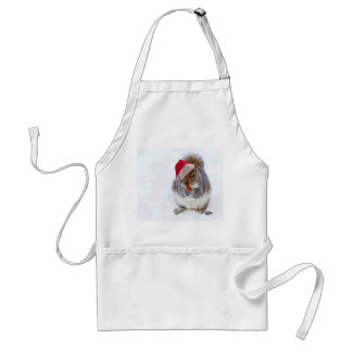 Holiday Squirrel Standard Apron