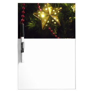 Holiday Star Dry-Erase Whiteboards