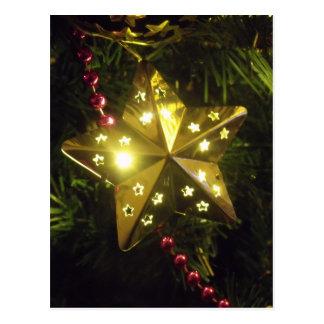 Holiday Star Postcard