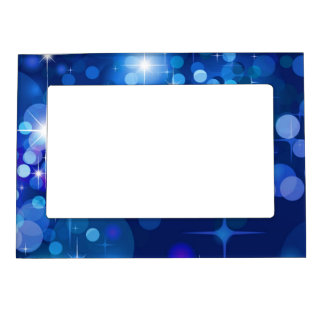 Holiday Starlights Magnet Picture Frame Magnetic Picture Frames
