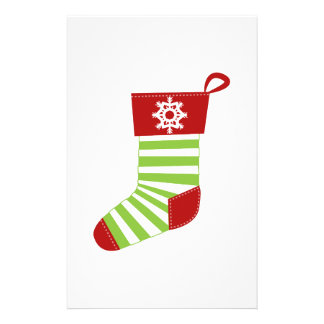 Holiday Stocking Personalized Stationery