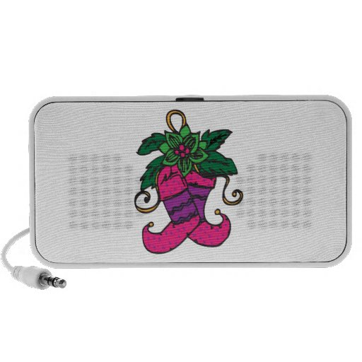 Holiday Stockings iPhone Speakers