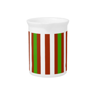 Holiday Stripes Pitcher
