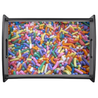 Holiday Sugar Sprinkles Serving Trays