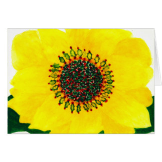 Holiday Sunflower Christmas Card