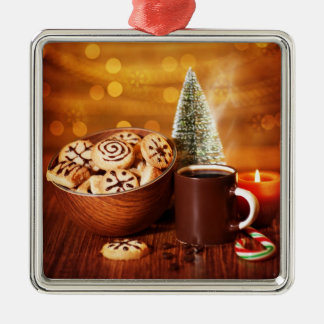 Holiday sweets christmas ornament