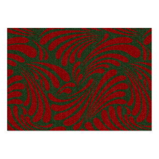 Holiday Swirl Pack Of Chubby Business Cards