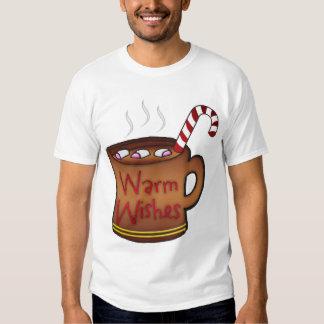 Holiday T Shirt, With Mug Of Hot Chocolate Tee Shirts