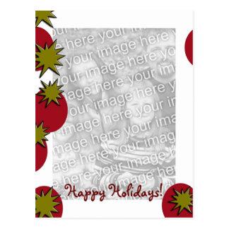Holiday Template Postcard