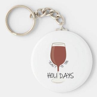 Holiday Toast Keychains