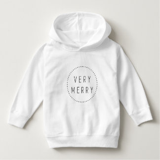 Holiday Toddler Pullover Hoodie