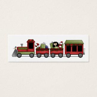 Holiday Train Gift Tag
