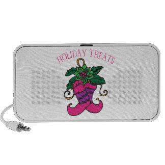 Holiday Treats Notebook Speakers