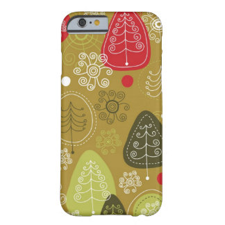 Holiday Tree Background Barely There iPhone 6 Case