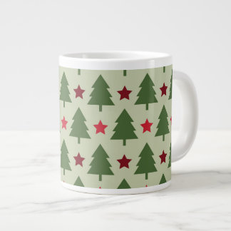 Holiday Tree Christmas Coffee Mugs Jumbo Mug
