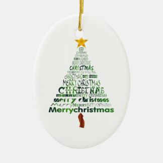 Holiday Tree Holiday Ornament