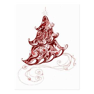 Holiday Tree Postcard