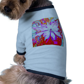 Holiday Tropical Flowers Gifts by Sharles Art Dog T Shirt