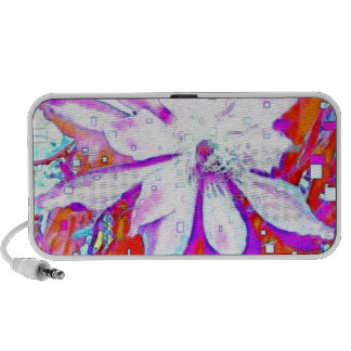 Holiday Tropical Flowers Gifts by Sharles Art Travelling Speaker