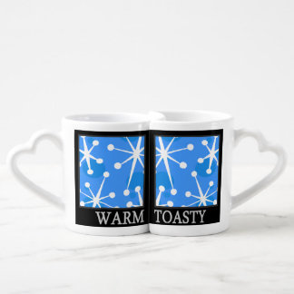 HOLIDAY WARM TOASTY SNOWFLAKE LOVERS MUG