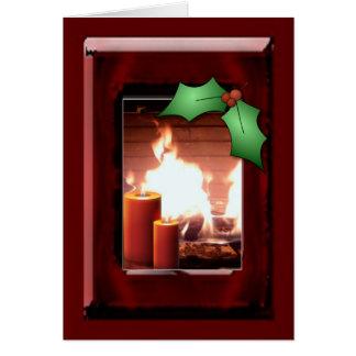 Holiday warmth card