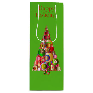 Holiday Wine Gift Bag
