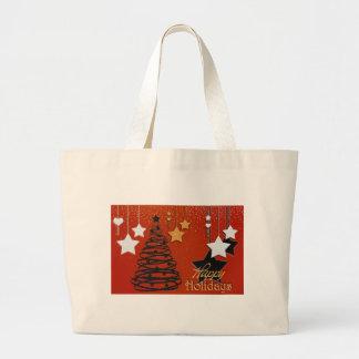 Holiday Winter Happy Family Friends Destiny Season Tote Bag