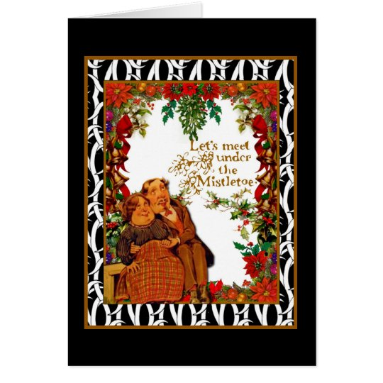 Holiday wishes for hugs and kisses card