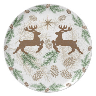 Holiday Woods Plate