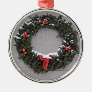 Holiday Wreath Christmas Ornament