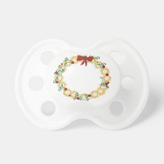 Holiday Wreath Pacifier