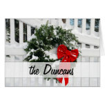 Holiday Wreath • Personalised