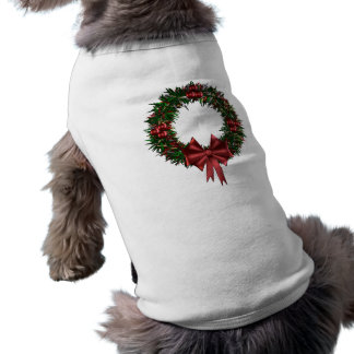 Holiday Wreath Pet Shirt