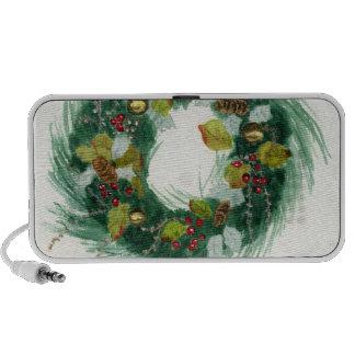 Holiday Wreath Travelling Speaker