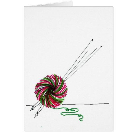 Holiday Yarns Card