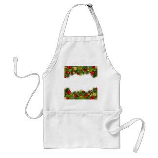 holidays adult apron