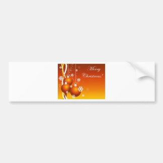 holidays decoration bumper stickers